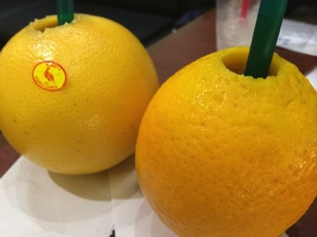 新感覚の100%果汁ジュースはすっごくフレッシュで美味しかったよ♪石神井公園駅すぐそばで飲めます!