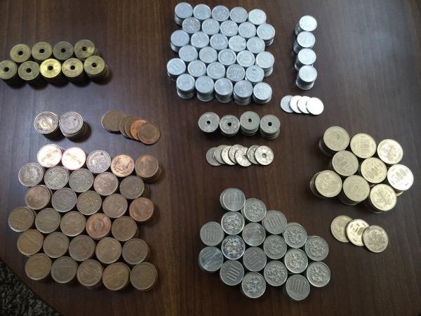 小銭貯金1