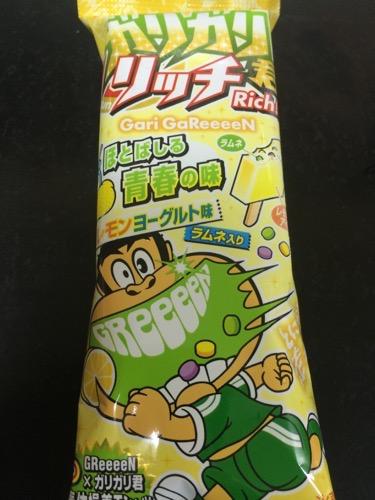 ガリガリ君リッチほとばしる青春の味レモンヨーグルト味2