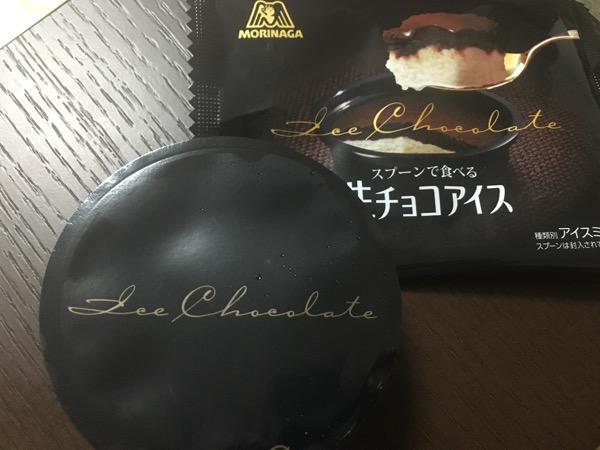 スプーンで食べる生チョコアイス3