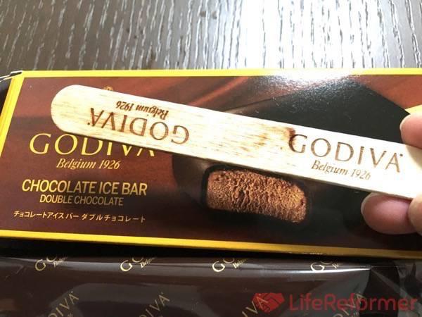ゴディバアイスバー ダブルチョコレート8