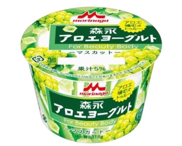 森永アロエヨーグルト マスカット味