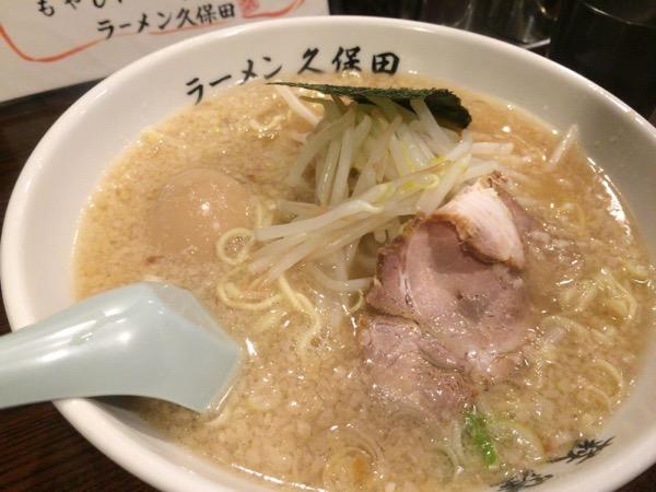 『ラーメン久保田』とんこつスープが苦手な方にこそ食べて欲しい!荻窪で食べれる優しいとんこつ醤油ラーメン!