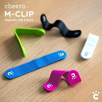 【cheeroのM-CLIP】カラフルでオシャレ♪ 色んな使い方に挑戦してみました〜《追記あり cheeroCLIP》