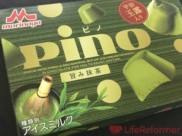 日本人てやっぱりお茶が好きよね〜♪『ピノ 旨み抹茶』抹茶の味と風味がと〜っても美味しいよ!