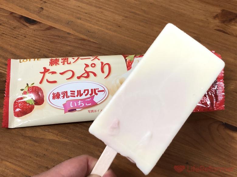 練乳ミルクバーいちご 4